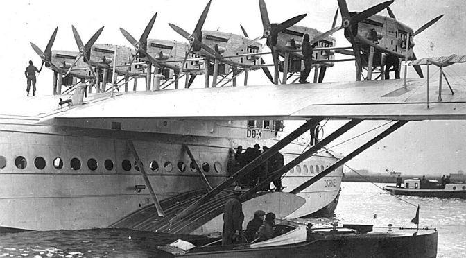 1931 – O GRANDE HIDROAVIÃO DO X EM NATAL