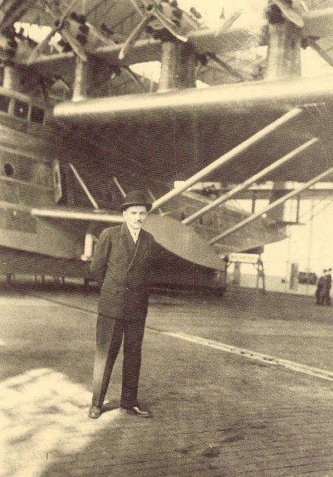 Dornier e sua grande nave