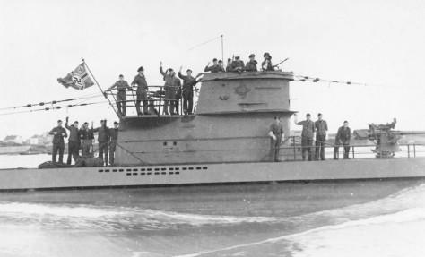 Submarino nazista, uma das principais armas de Hitler durante a Segunda Guerra Mundial