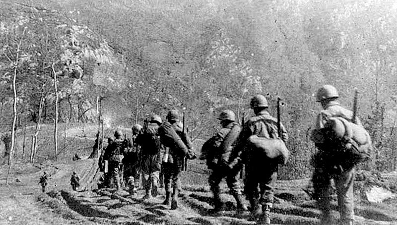 Soldados brasileiros na Itália - Fonte - http://infograficos.estadao.com.br/galerias/gerar/4167
