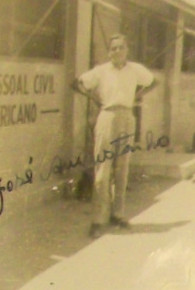 Novamente o Sr. José Augustinho na base dos americanos