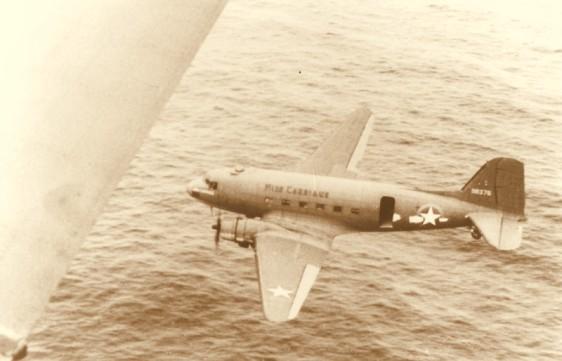 Aviões como o C-47 eram comuns em Parnamirim Field