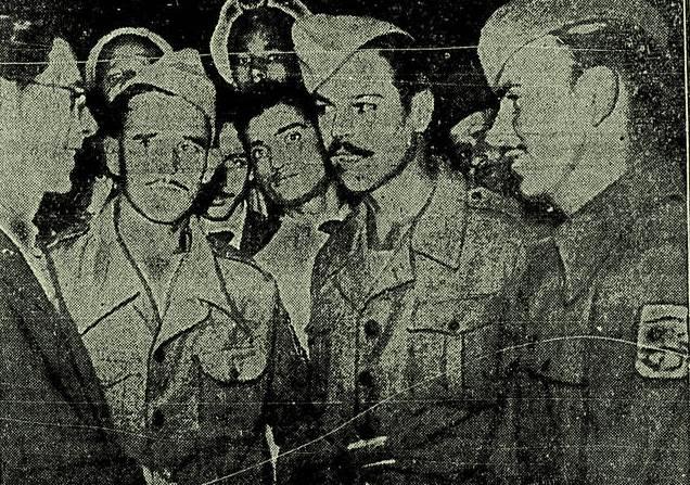 Soldados da FEB sendo recebidos no Rio de Janeiro