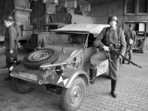 """O Kübelwagen, o """"Jeep"""" alemão"""