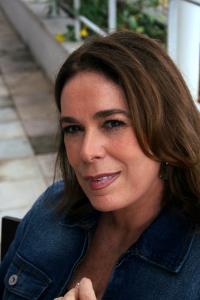 Mary del Priore, em foto para a entrevista publicada na RHBN em abril de 2010 [Foto: Fernando Rabelo]
