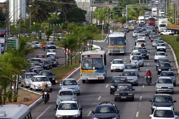 Engarrafamento em Natal - Fonte - tribunadonorte.com.br