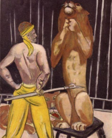 Obra do pintor Max Beckmann foi uma das pinturas recuperadas.