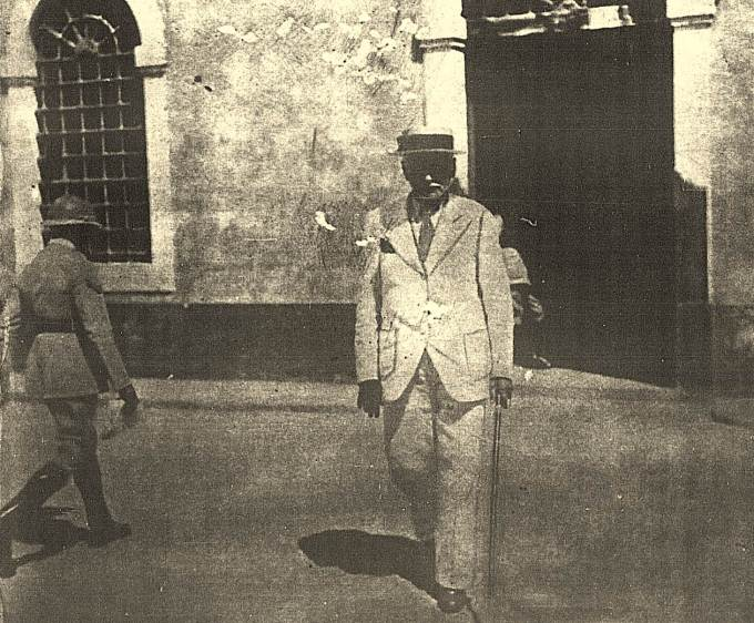 Deixando a detenção em Pernambuco