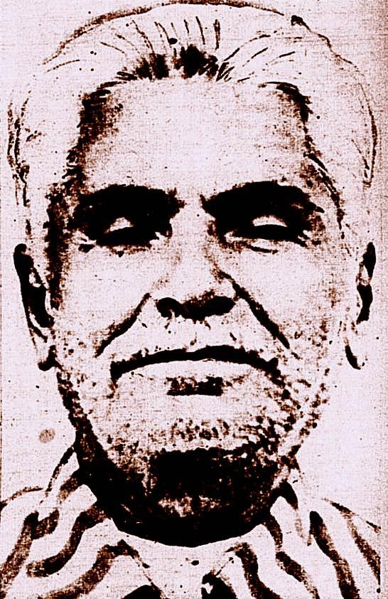 O prisioneiro Manuel Baptista de Morais, o Antônio Silvino