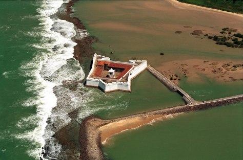 Antigo Castelo de Keulen, atual Fortaleza dos Reis Magos, Natal, Brasil
