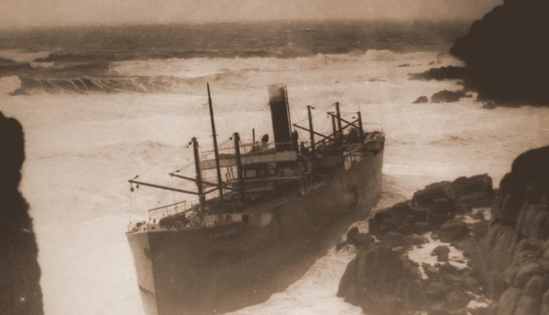 A família Gibson fotografou estes desastres marítimos durante quatro gerações