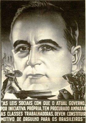 Propaganda típica da época do Estado Novo - Foto - www.infoescola.com
