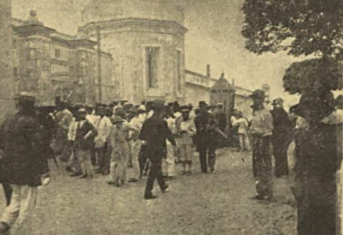Expectativa para a chegada do famoso bandoleiro nordestino na Casa de Detenção de Recife.