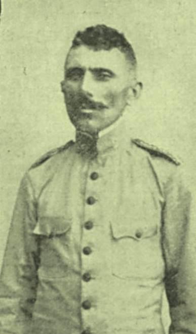 Sargento Alvino, promovido a alferes após a captura de Antonio Silvino