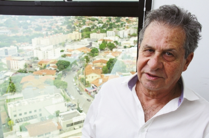 O arquiteto e urbanista Luiz Fernando Cruvinel Teixeira ressalta que planta urbanística valorizou o orgânico