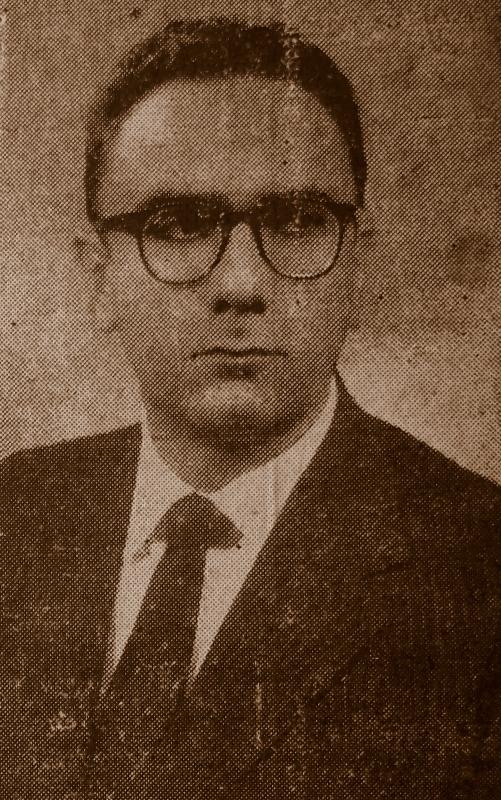 Luís Maranhão Filho, importante líder estudantil e grande idealizador dos protestos ocorridos em Natal contra os nazifascistas - Foto - Coleção do Autor