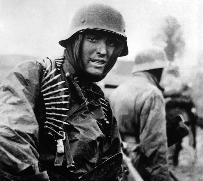 Soldado alemão em combate
