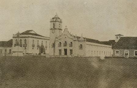 Igreja de Nossa Senhora da Expectação (Matriz de Icó) na década de 1920. Construção que remonta ao século XVIII