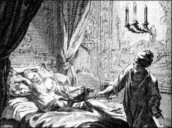 Imagem do livro Les Bijoux Indiscrets, de Diderot.