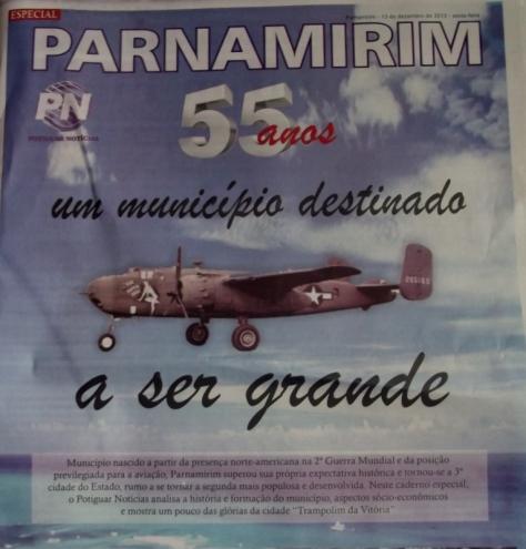 """Capa do caderno especial do jornal """"Potiguar Notícias"""""""