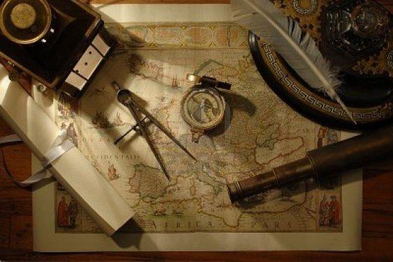 Antigos instrumentos de navegação - maxinecooper.wordpress.com