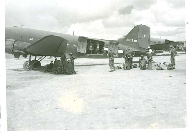 """C-47, o """"Burro de carga"""" da aviação Aliada. Muitos destes passaram por Natal"""