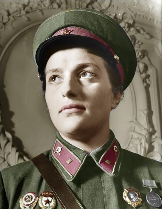 Lyudmila Mykhailvna Pavlichenko