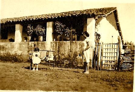 Casa de João Batista Pinheiro Borges, conhecido como Ieiê na antiga fazenda Queimadas
