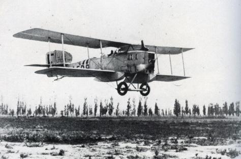 Avião francês  Breguet XIV