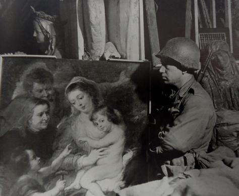 Quadro do pintor Rubens recuperado de uma mina na Prússia