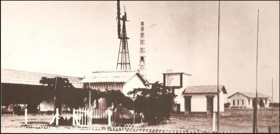 Base dos franceses no Campo de Parnamirim