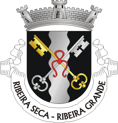 Brasão da freguesia da Ribeira Seca