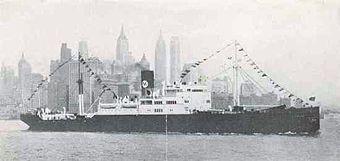 O navio brasileiro Buarque foi um dos afundados em fevereiro de 1942