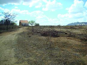 A casa da fazenda Santa Casa - Foto - Nathália Diniz