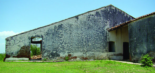 Casa da fazenda Sabugi, no Rio Grande do Norte - Foto - Nathália Diniz