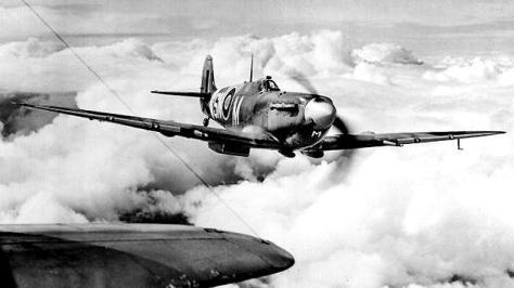 Um caça britânico Supermarine Spitfire - Fonte - BBC