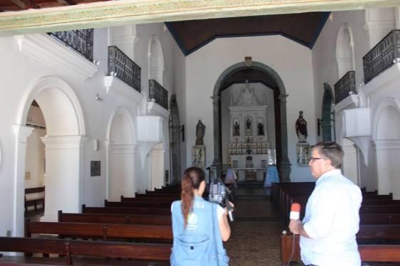 Na Igreja Matriz de Nossa Senhora da Apresentação (Antiga Catedral) de Natal