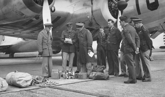 B-17 do 2º Grupo de Bombardeio, de Langley Field.
