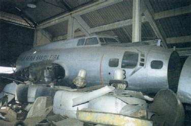 Como se encontrava a velha B-17 do Aero no MUSAL, no Rio de Janeiro