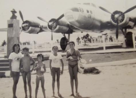 Um verdadeiro sonho ter uma B-17 vizinho a sua casa.