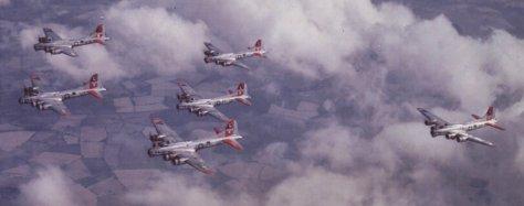 Um grupo de B-17G