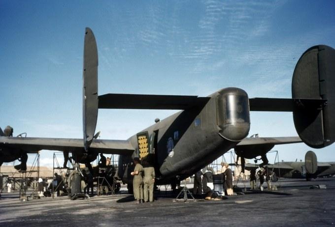 Um Consolidated C-87 Liberator Express em Parnamirim Field