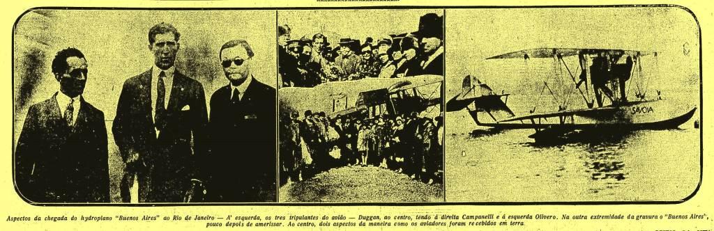 Os argentinos do Raid Nova York-Buenos Aires, passaram por Natal e pararam em na praia de Barra de Cunhaú, município de Cangauaretama.
