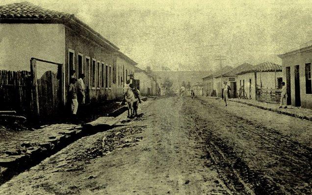 São Simão no início do século XX, por onde andou Dioguinho - Fonte -  http://desmanipulador.blogspot.com.br/2012/07/dioguinho-o-bandoleiro-do-brasil.html