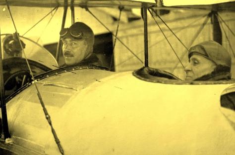 Sacadura Cabral e Gago Coutinho em 1922