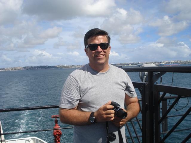 Seguindo para a ilha de Ferry Boat