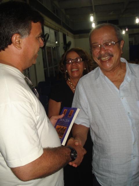 Com João Ubaldo Ribeiro na Ilha de Itaparica