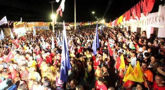 Mobilização política no interior potiguar - Fonte - erinilsoncunha.blogspot.com
