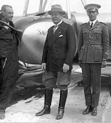 Ferrarin, Mussolini e Del Prete
