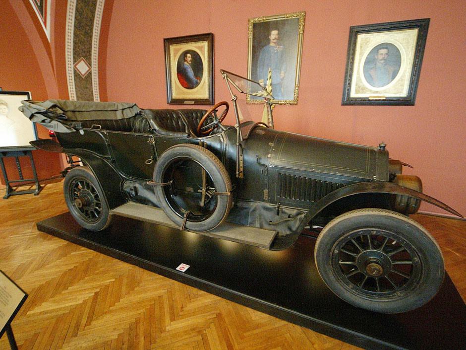 Também no Militärhistorisches Museum de Viena se encontra preservado o veículo no qual os nobre foram assassinados em Viena.